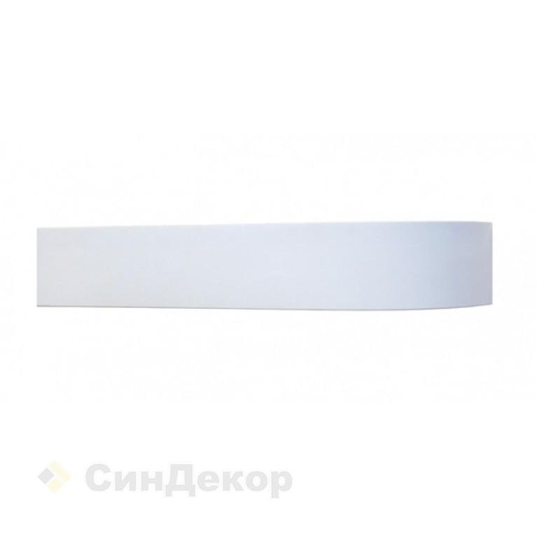 Лента однотонная Белая 7см